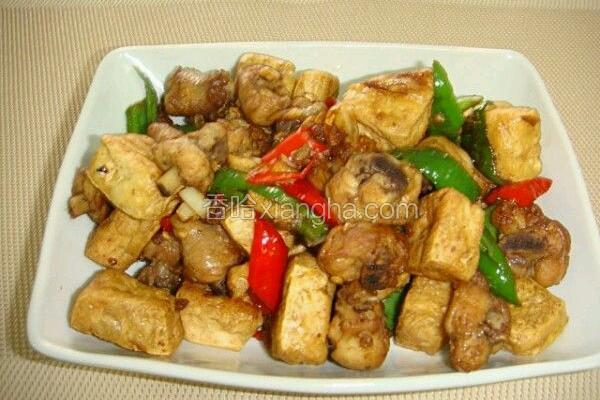 香辣豆腐鸡块