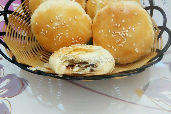芝麻红糖酥饼
