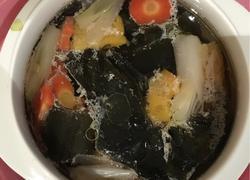 蔬菜海带鸡汤