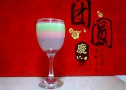 酒杯三色果冻