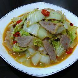 大白菜炒咸肉
