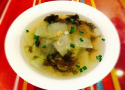 紫菜虾米冬瓜汤