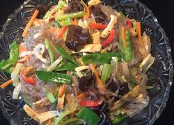 素菜炒红薯粉丝