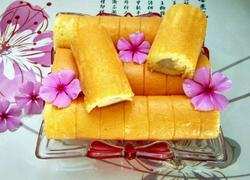 卷心香蕉蛋糕