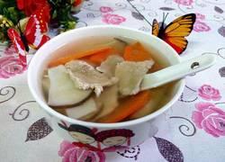 杏鲍菇瘦肉汤