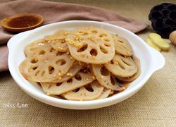 姜汁老醋拌藕片