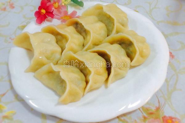 西葫芦鸡蛋木耳水饺