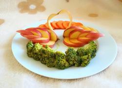 水果拼盘~天鹅湖