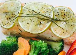 烤箱版柠檬三文鱼