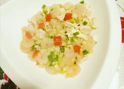 蛋清炒虾仁
