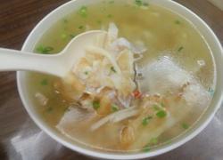 蛋白鲜菇汤