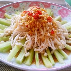 涼拌金針黃瓜的做法[圖]