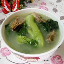 咸骨芥菜汤