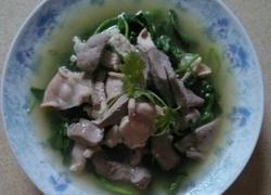 西洋菜猪杂汤