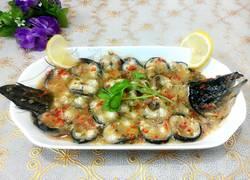 柠檬蒸鳗鱼