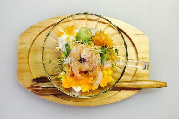 沙拉系列 杯子里的春天