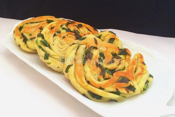 韭菜拉丝饼
