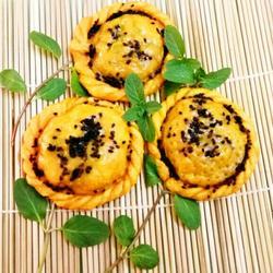 给妈妈做的葵花蒸饺。
