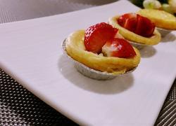 【餐桌上的旅行】草莓蜜豆蛋挞