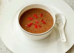 #我为女王做道菜#红豆薏米红枣糊