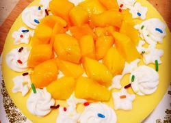 芒果流心慕斯蛋糕