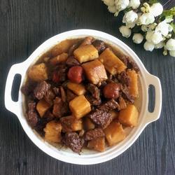 土豆燉牛肉的做法[圖]