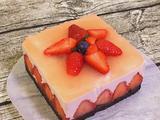 草莓酸奶慕斯蛋糕(6寸)的做法[图]