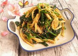 芥末鸡丝拌菠菜
