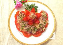 西红柿洋葱沙拉