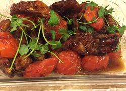红烧韩国烧烤酱西红柿排骨