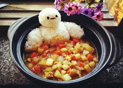 大白暖心咖喱