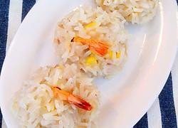 玉米珍珠虾丸