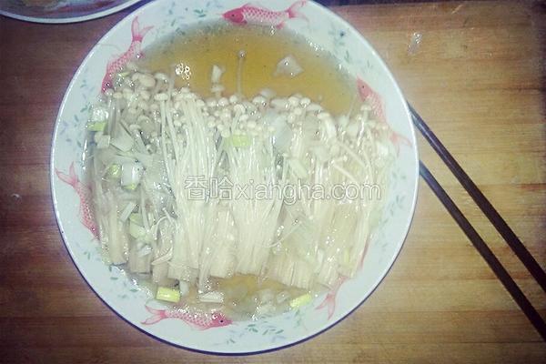 油泼金针菇