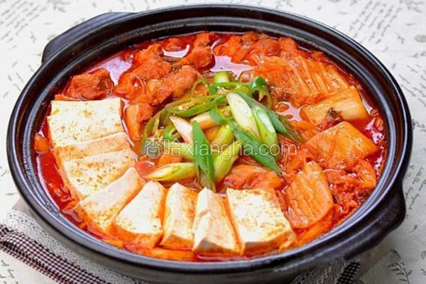 猪肉泡菜汤