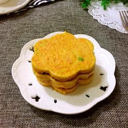 胡萝卜鸡蛋饼的做法[图]