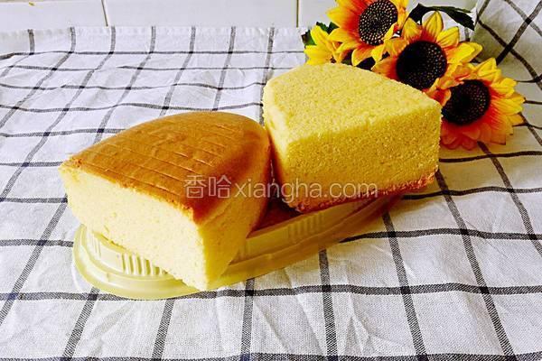 烫面棉花蛋糕