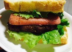 简易猪排三明治