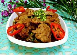 酥肉黄花菜蒸碗