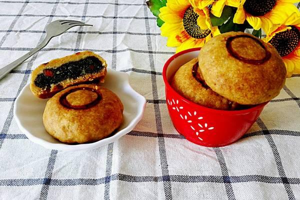 京味自来红月饼