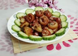 姜葱焖猪尾巴