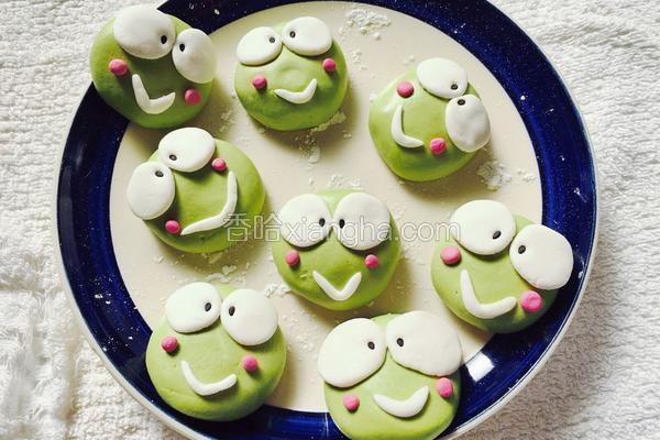 青蛙卡通汤圆