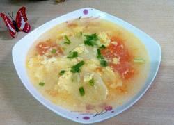 番茄土豆鸡蛋汤