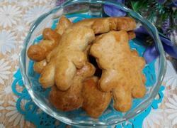 小熊牛奶饼干