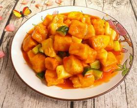 菠萝咕噜豆腐[图]