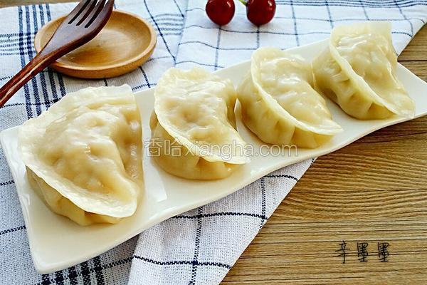 大白菜猪肉蒸饺