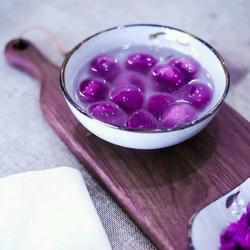 紫薯水晶汤圆的做法[图]