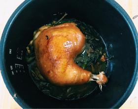 姜葱酱油焗鸡