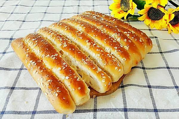 麦麸排面包