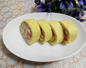 草莓淡奶油蛋糕卷[图]