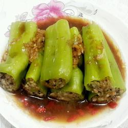 青椒酿肉的做法[图]
